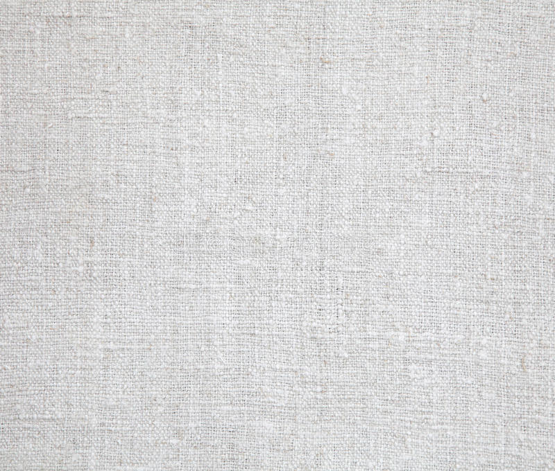 在白色的亚麻制织品 向量例证