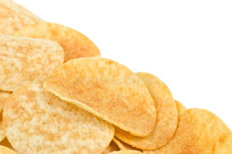 土豆片 库存图片