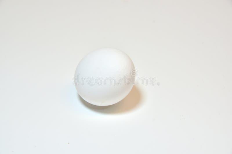 在白色的鸡蛋 免版税图库摄影