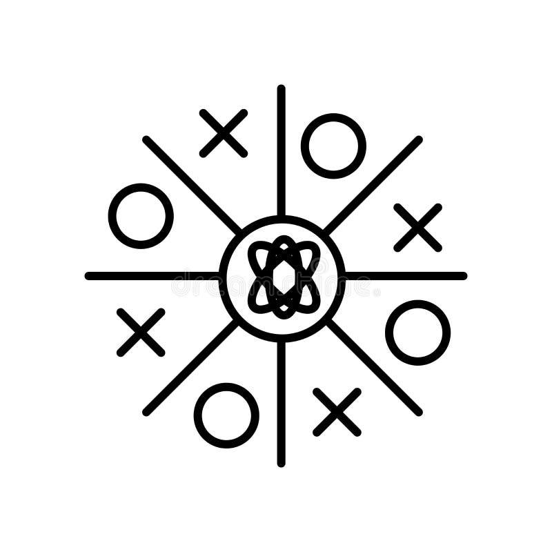 在白色背景、大轰隆标志、标志和标志隔绝的大轰隆象传染媒介在稀薄的线性概述样式 皇族释放例证