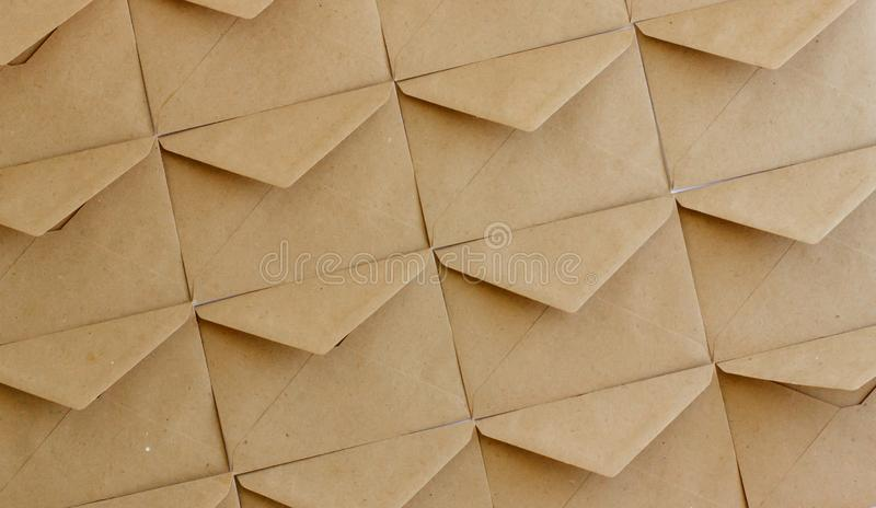 在白色背景的卡拉服特邮政信封 免版税库存照片