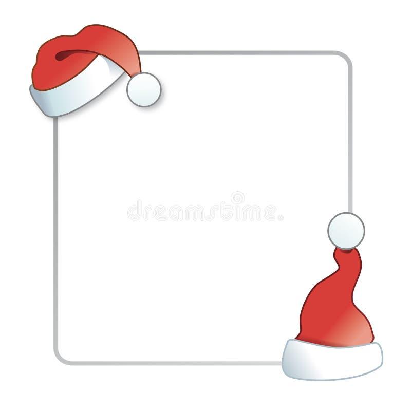 在白色背景的圣诞节横幅 例证 皇族释放例证
