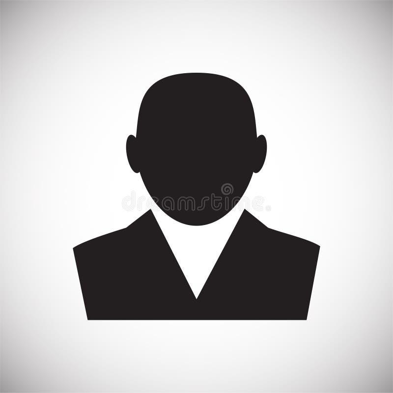 在白色背景的外形象图表和网络设计的,现代简单的传染媒介标志 背景蓝色颜色概念互联网 时髦标志为 皇族释放例证