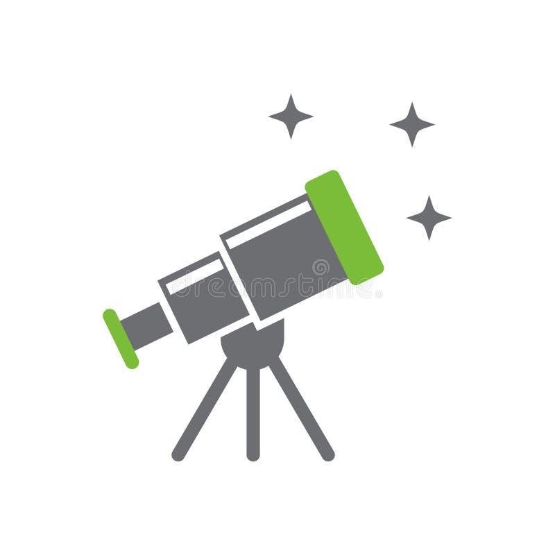 在白色背景的天文象图表和网络设计的,现代简单的传染媒介标志 背景蓝色颜色概念互联网 时髦标志为 库存例证