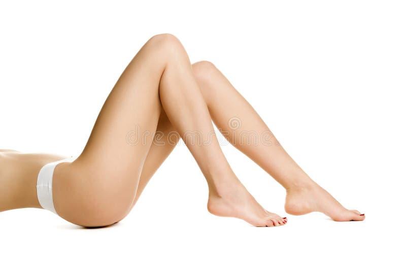 美好的妇女腿 免版税库存图片