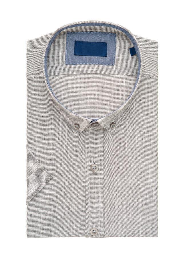 在白色背景的衬衣 免版税图库摄影