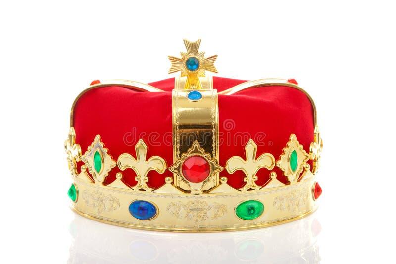 装饰的冠 免版税库存照片