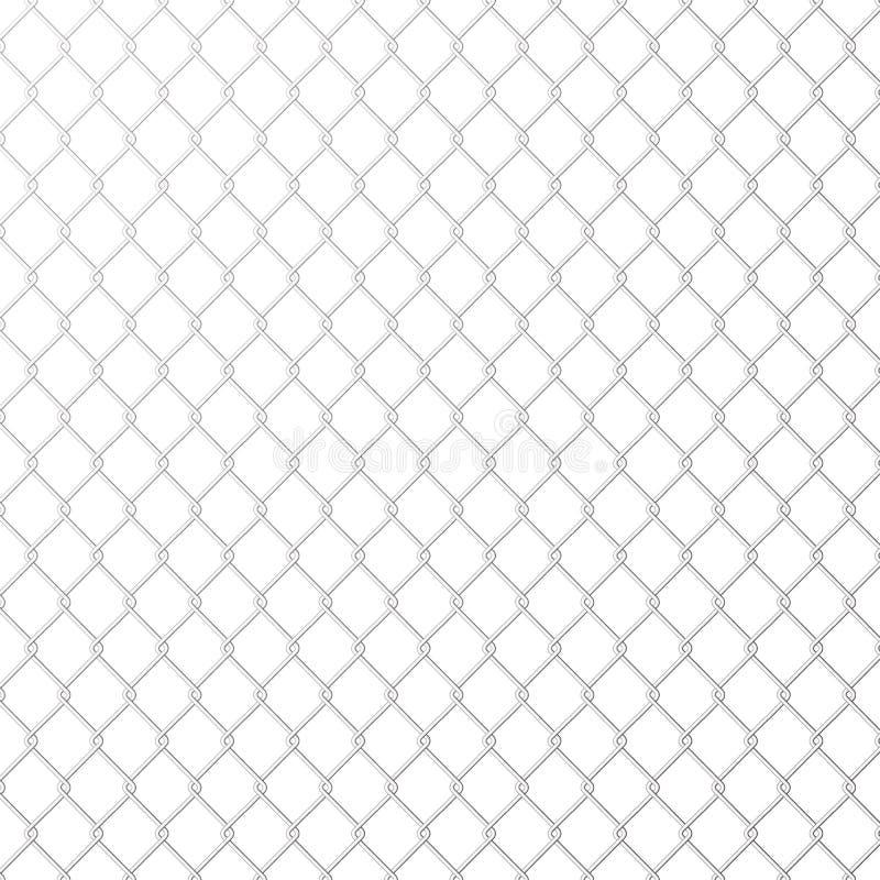 在白色背景的铁丝网钢金属 r 皇族释放例证