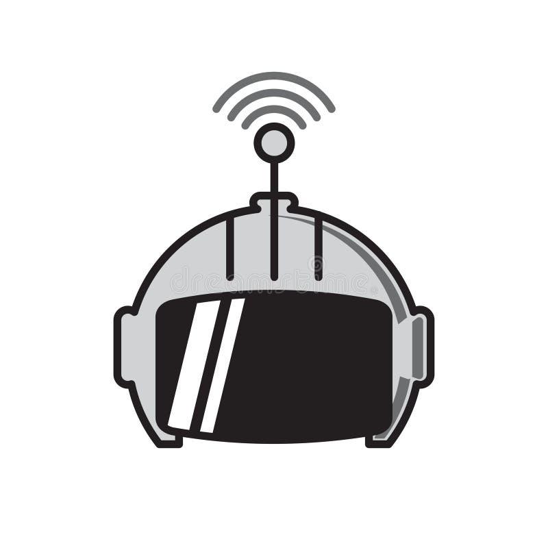 在白色背景的马胃蝇蛆象图表和网络设计的,现代简单的传染媒介标志 背景蓝色颜色概念互联网 网站的时髦标志 向量例证