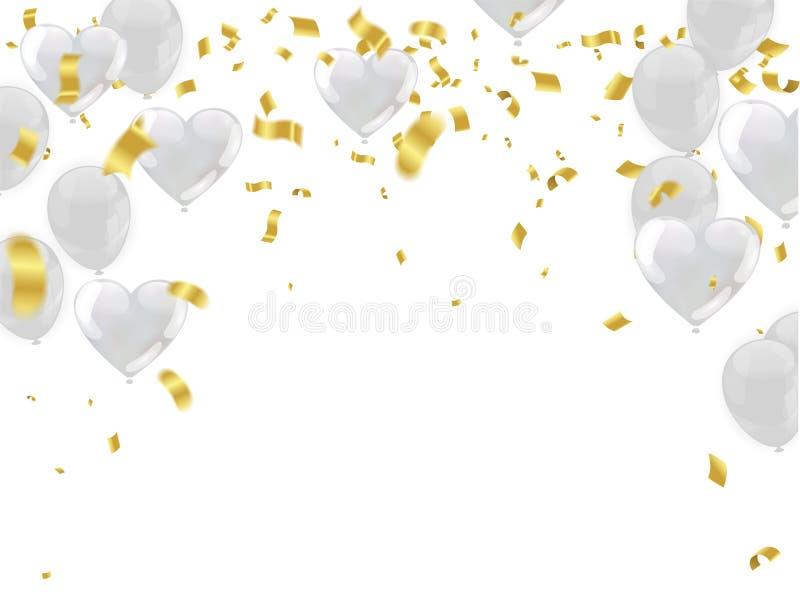 在白色背景隔绝的可膨胀的空气飞行气球 平面 皇族释放例证