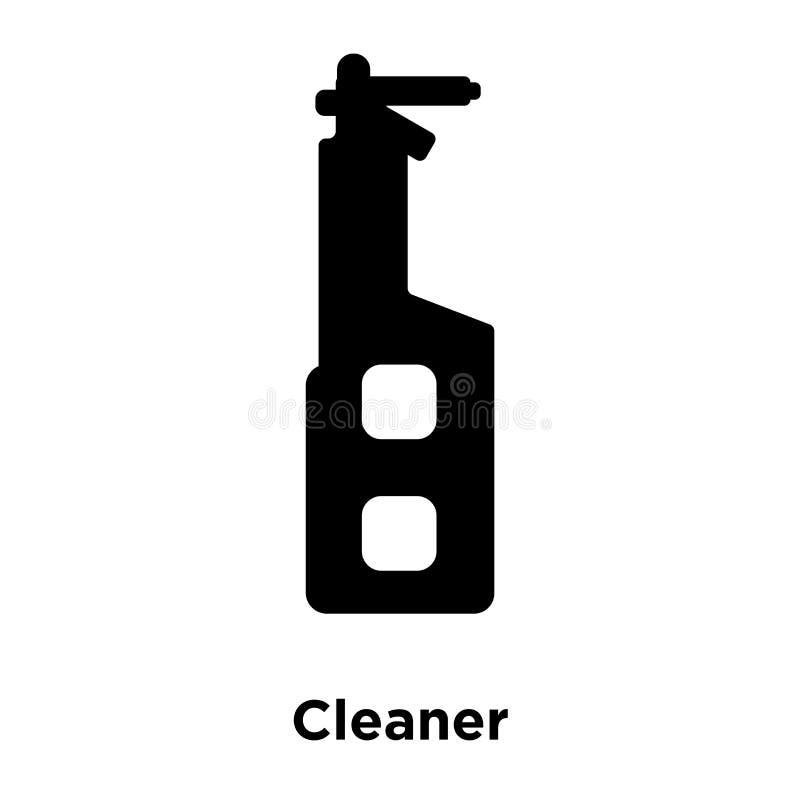 在白色背景隔绝的更加干净的象传染媒介,商标概念o 库存例证