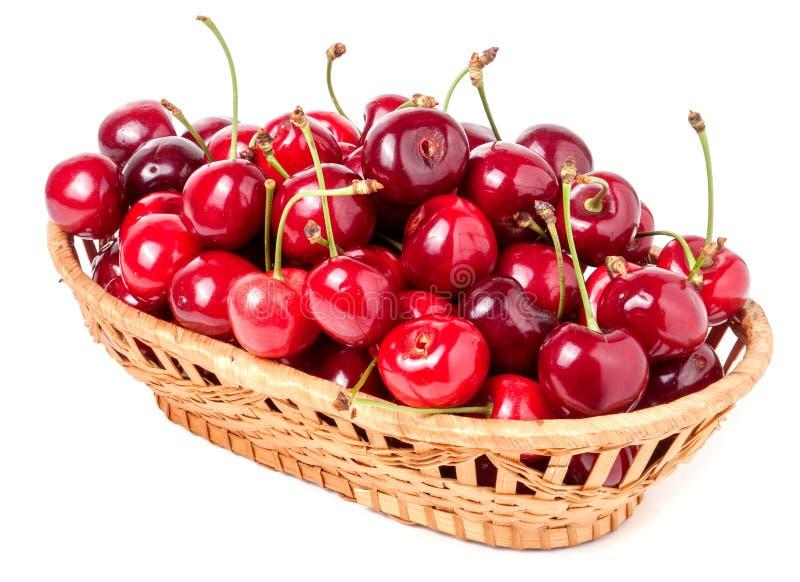 Download 在白色背景隔绝的一个柳条筐的樱桃 库存图片. 图片 包括有 充分, 粉红色, 牌照, 查出, 果子, 饮食 - 72364585