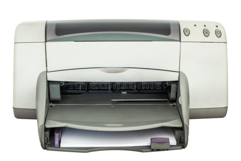 Download 在白色背景隔绝的喷墨打印机 库存照片. 图片 包括有 复印机, 颜色, 文件, 纸张, 墨水, 商业, 显示 - 72374040