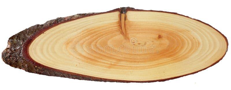 木空白的标志 库存图片
