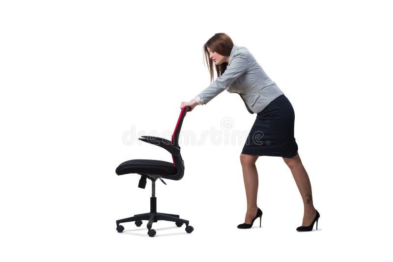 Download 在白色背景隔绝的女实业家开会 库存图片. 图片 包括有 查出, 查找, 快活, 高兴, 商业, 经理, 夫人 - 72358009