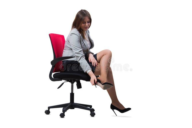 Download 在白色背景隔绝的女实业家开会 库存照片. 图片 包括有 女性, 冲突, 工作, 查找, 生意人, 夫人, beautifuler - 72358324