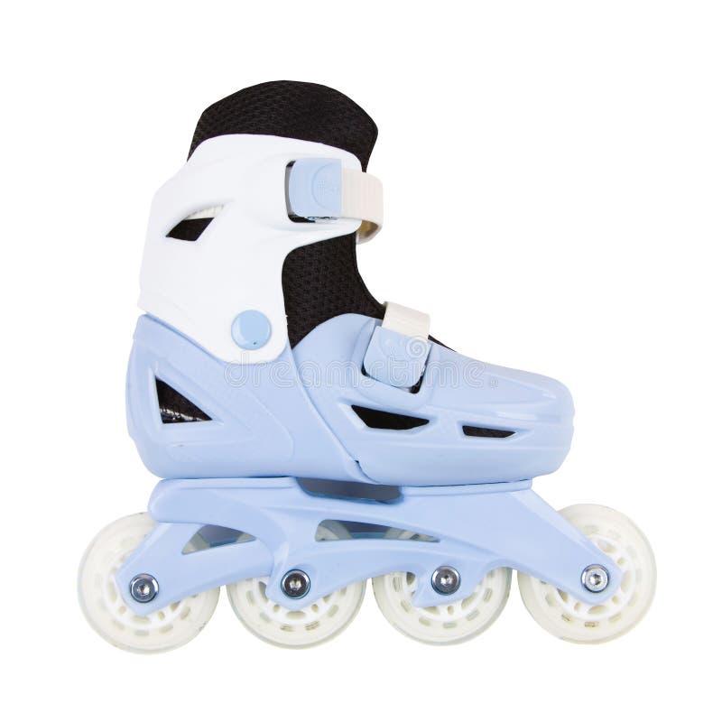在白色背景隔绝的溜冰鞋 免版税库存照片