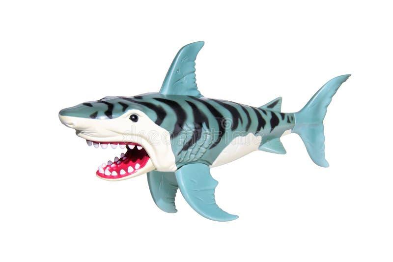 玩具鲨鱼 免版税库存照片