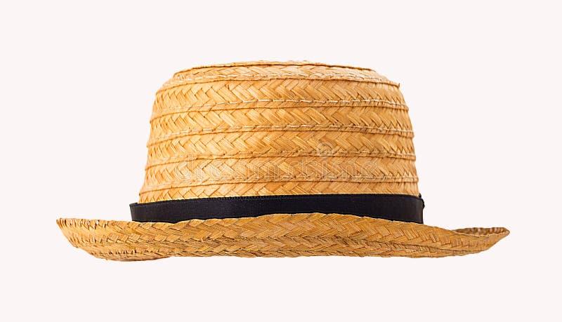 农夫帽子_在白色背景隔绝的草帽 库存照片. 图片 包括有 农夫