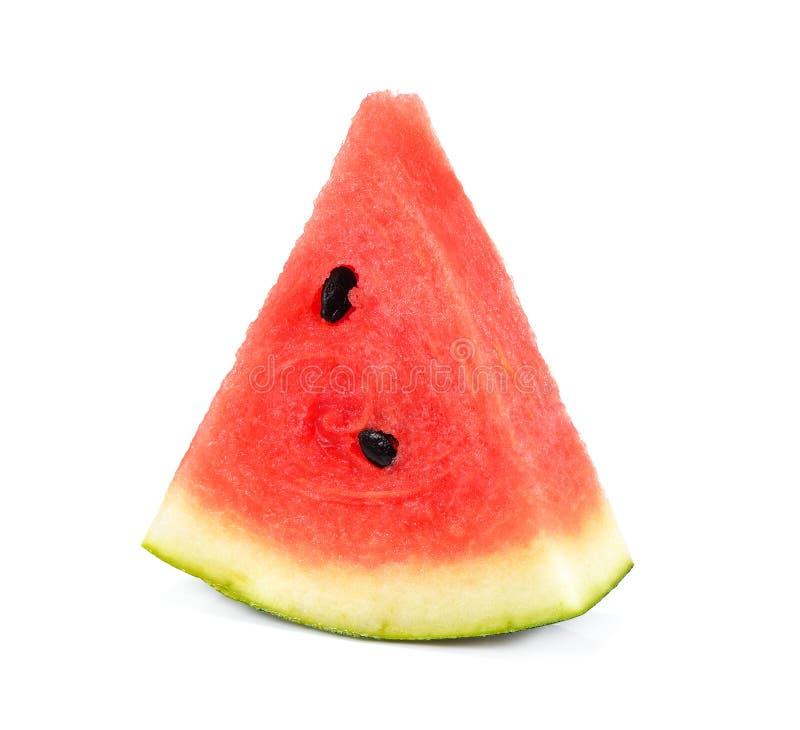 在白色背景隔绝的蒲桃,红色果子 库存图片