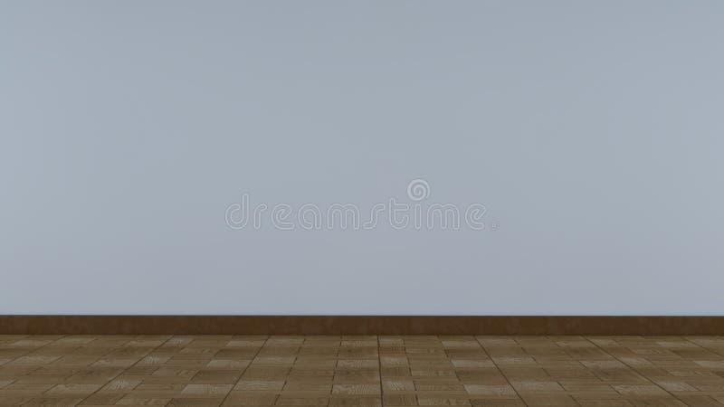 在白色背景隔绝的透视木头 免版税库存图片