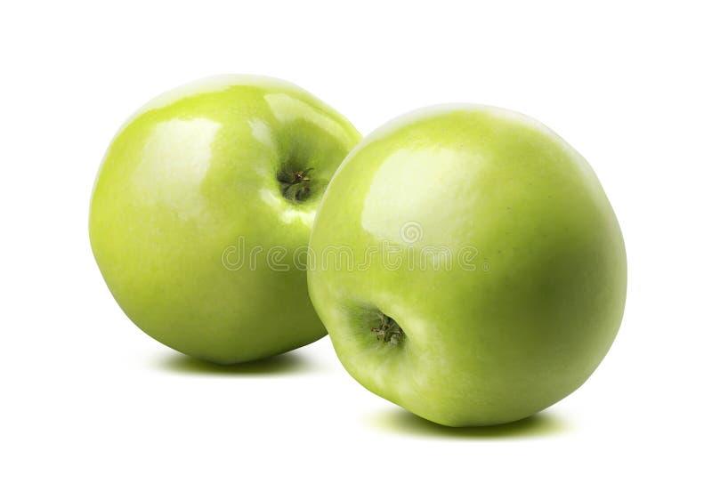 Download 在白色背景隔绝的2个整个光滑的绿色苹果 库存照片. 图片 包括有 快餐, 生物, 老婆婆, 装箱, 饮食 - 59111472