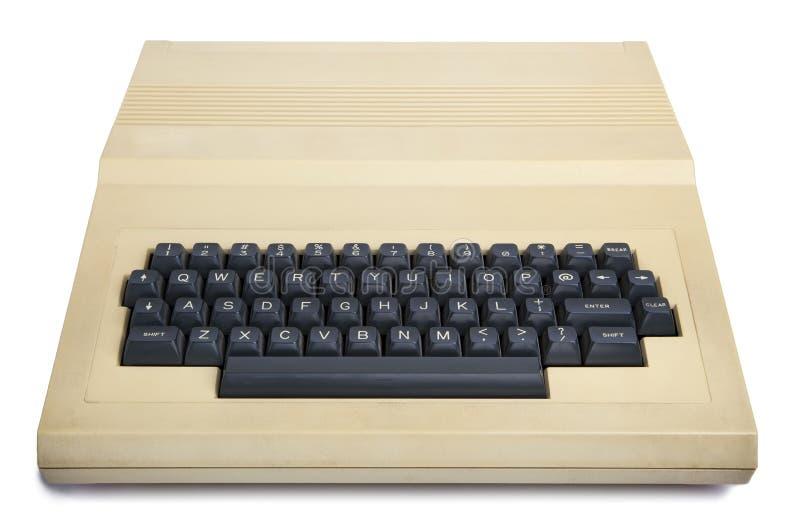 被隔绝的葡萄酒20世纪80年代计算机 库存图片