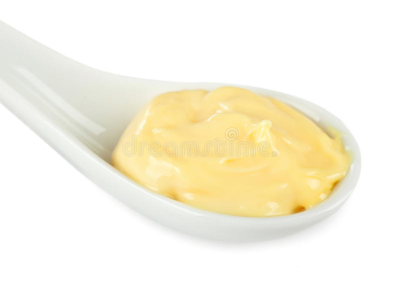 Mayonnaisel调味汁 库存图片