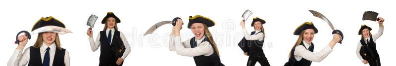 Download 在白色隔绝的妇女海盗 库存图片. 图片 包括有 化妆舞会, 中世纪, beautifuler, 俄国猎狼犬 - 72362851