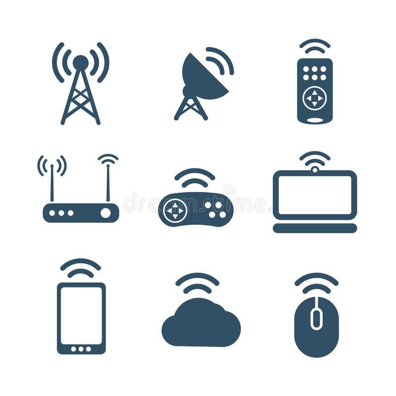无线设备象 库存例证