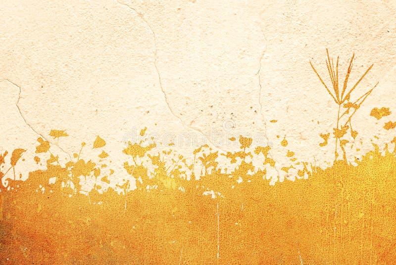 在白色隔绝的花卉样式纹理 向量例证
