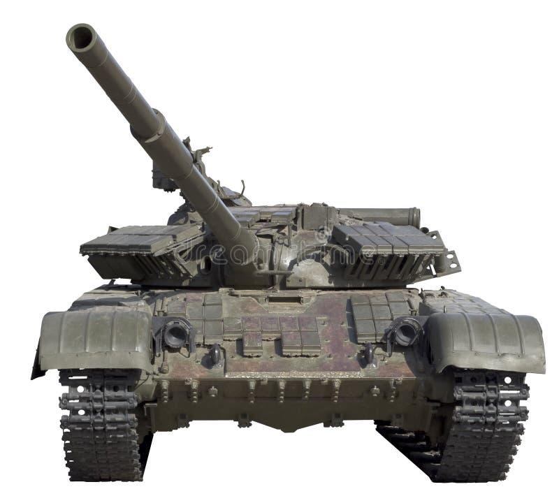 被隔绝的坦克 库存图片