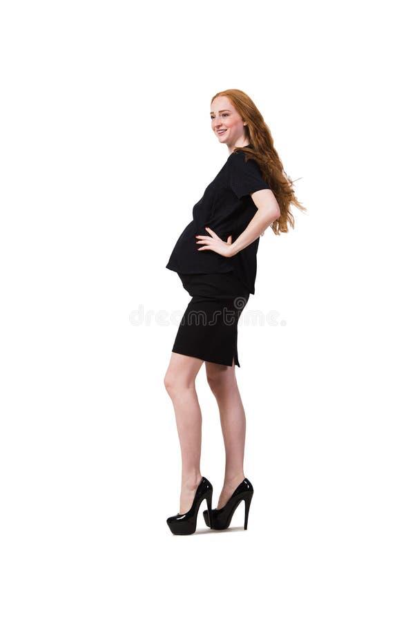 Download 在白色隔绝的年轻孕妇 库存照片. 图片 包括有 愉快, 女孩, 迷人, 被子植物, beautifuler - 72360006