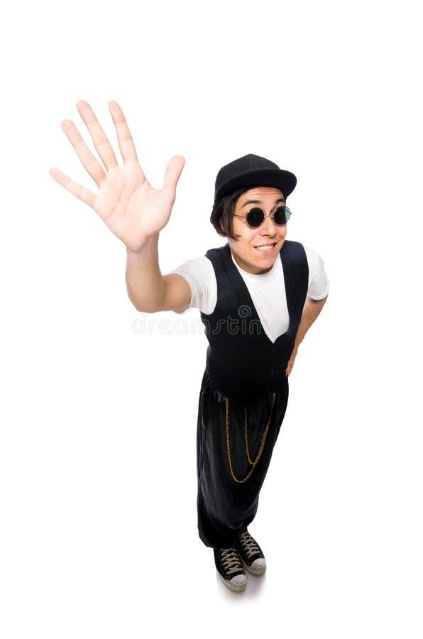 Download 在白色隔绝的滑稽的年轻人跳舞 库存图片. 图片 包括有 agiler, 演艺人员, 流行音乐, 可笑, 跳舞 - 72366277