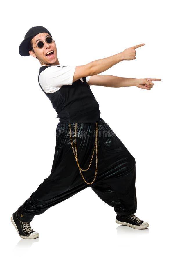 Download 在白色隔绝的滑稽的年轻人跳舞 库存照片. 图片 包括有 音乐家, 臀部, 音乐, 技艺家, 交谈者, 舞蹈 - 72367296