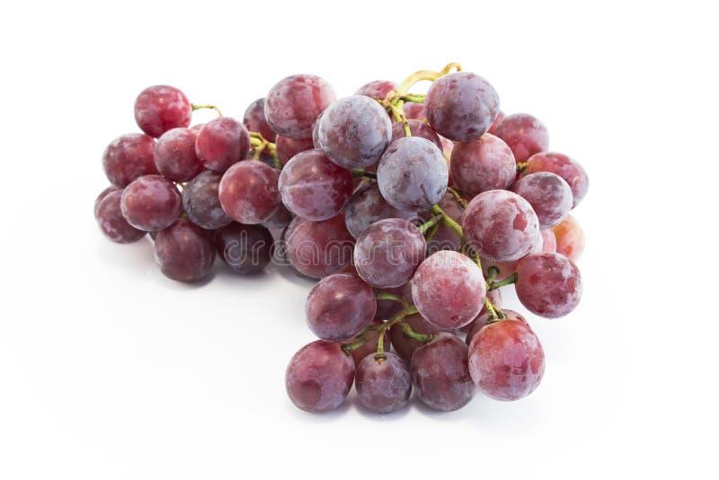 在白色隔绝的主要葡萄 库存图片