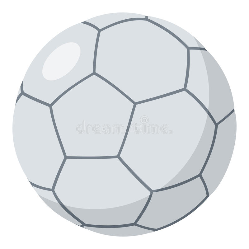 在白色隔绝的Futsal球平的象 皇族释放例证