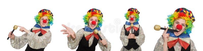 Download 在白色以各种各样的姿势隔绝的小丑 库存照片. 图片 包括有 演艺人员, 庆祝, 马戏, 喜剧, 幽默, 供人潮笑者 - 72365810