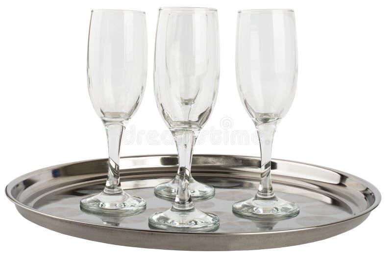 Download 在盘子的许多香槟玻璃 库存照片. 图片 包括有 酒精, 空白, 打赌的人, 葡萄酒杯, 关闭, 言情, 查出 - 72357898