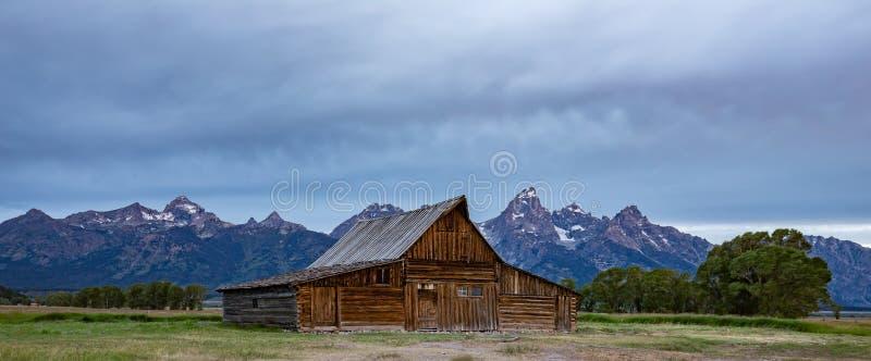 在盛大Tetons的夏天 免版税图库摄影