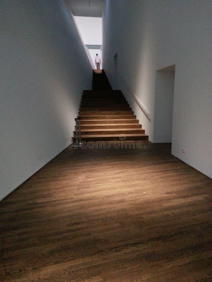 在眼睛的楼梯 库存照片