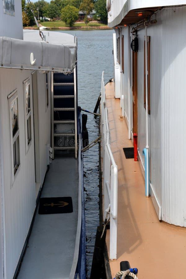 在码头 免版税库存图片
