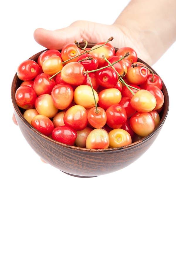Download 在碗的甜樱桃在手中 库存照片. 图片 包括有 食物, 可口, beautifuler, 弯脚的, 点心, 充分 - 72354896