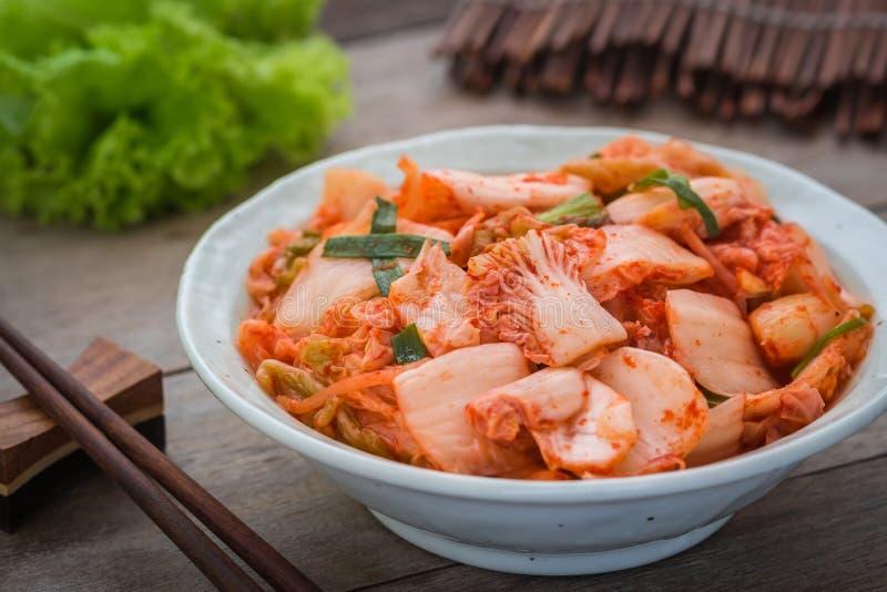 在碗,韩国食物的韩国泡菜 图库摄影