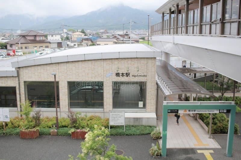 在福冈县的街道视图 库存图片