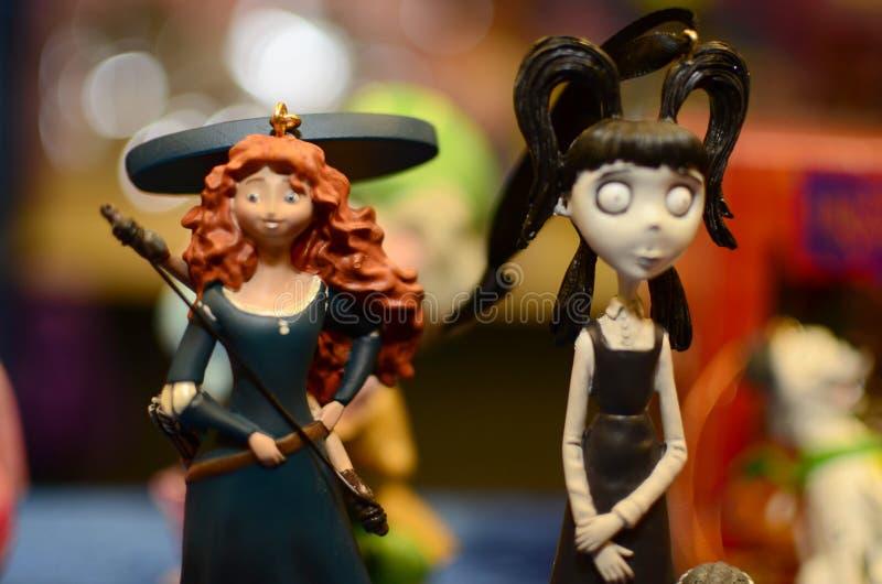 Figurins玩具 免版税图库摄影