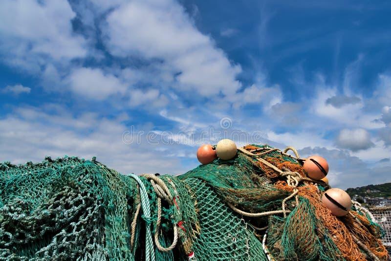 在科布-莱姆里杰斯的渔具 免版税图库摄影