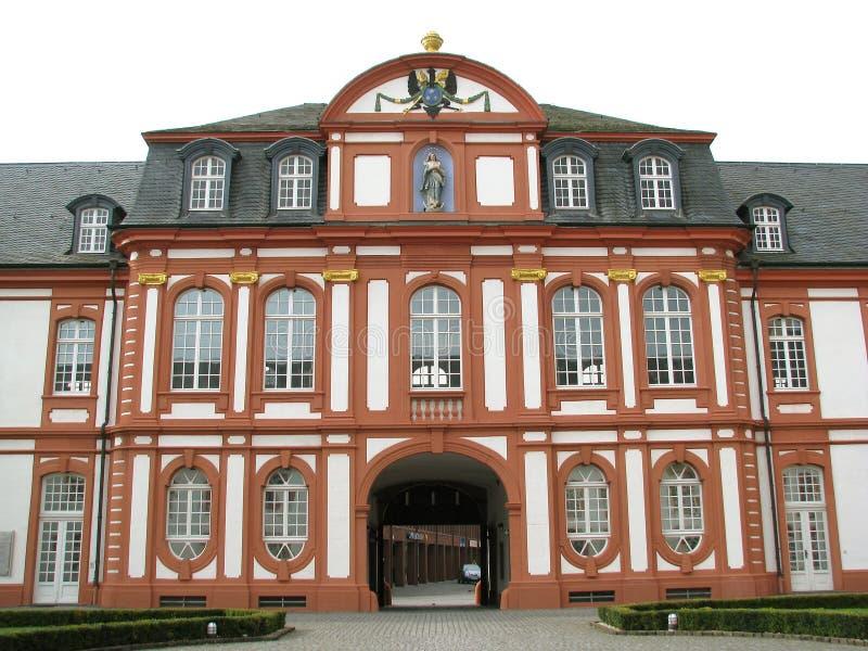 在科隆(德国)附近的Brauweiler修道院 免版税图库摄影