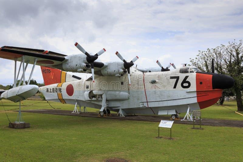 在空气博物馆飞行在鹿屋市,九州日本 免版税库存照片