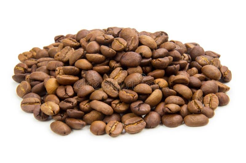在空白背景查出的咖啡 库存图片